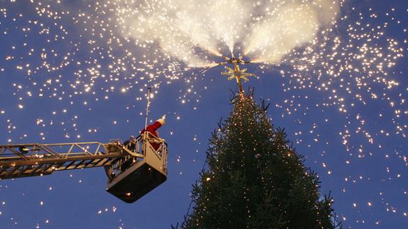 juletræet Axeltorv Helsingør